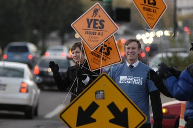 Honk and Wave Campaign for the Better Denver Bond Program