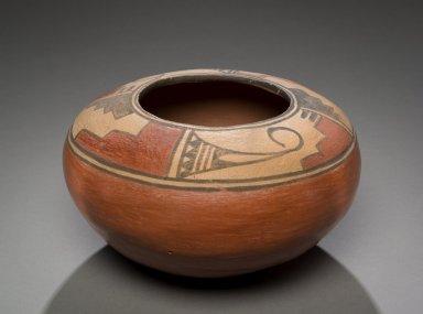 Zia Pottery Seed Jar, New Mexico.