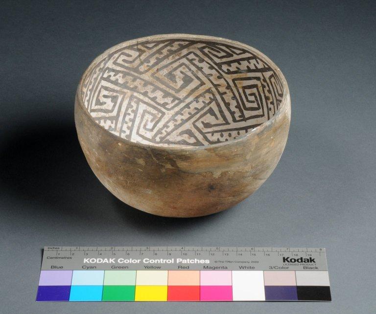 Kayenta Ancestral Pueblo Closed Clay Bowl