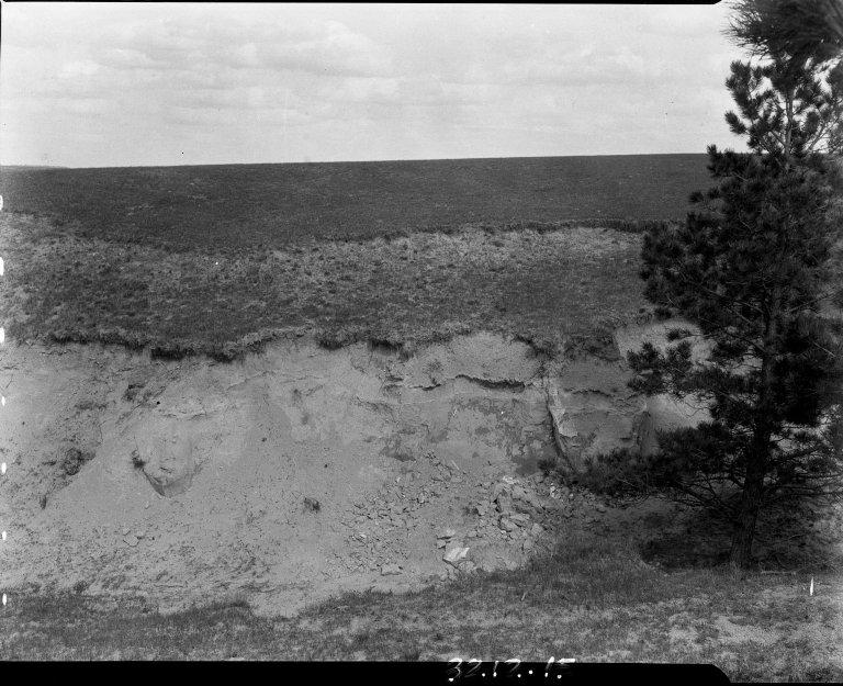 Fossil location in Nebraska