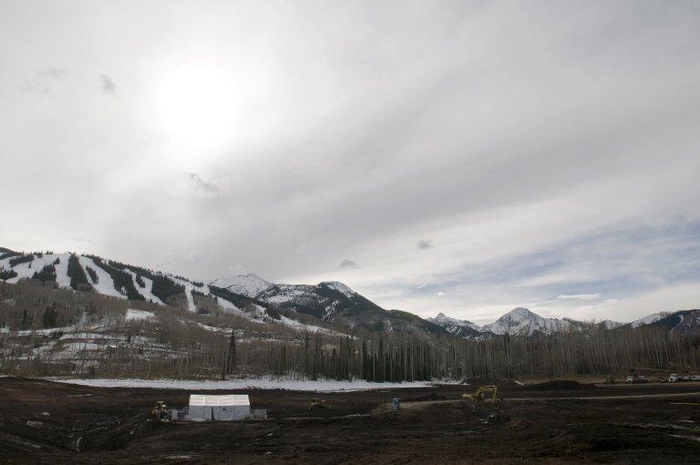 Snowmass Excavation Site