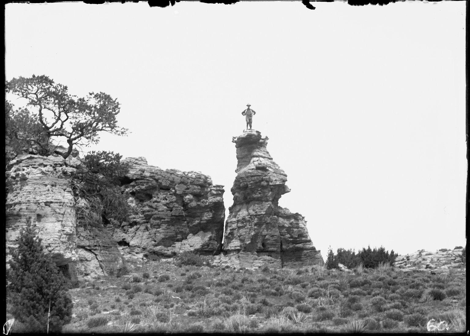 Rock formation near Regnier, Colorado