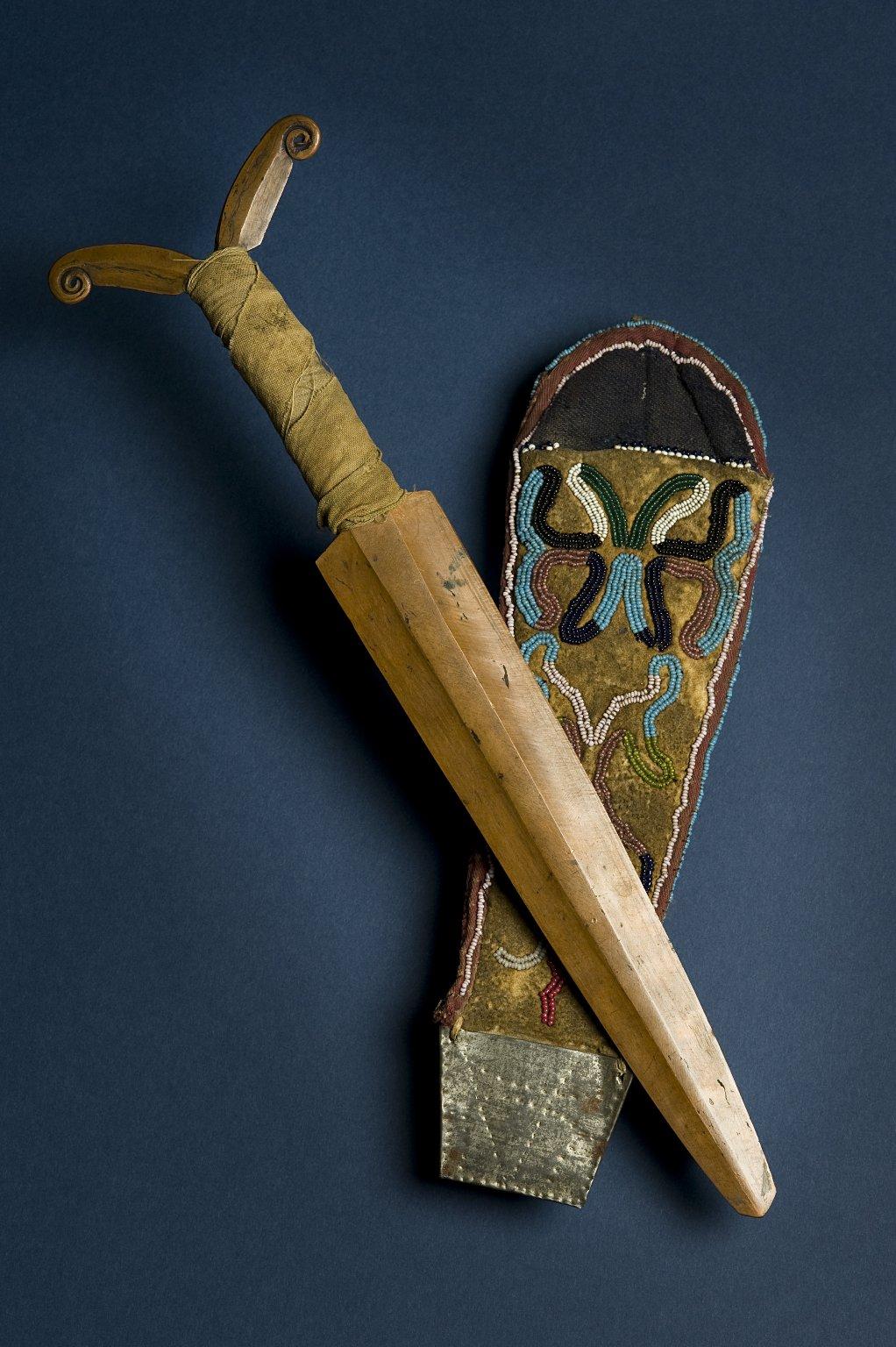 Copper dagger
