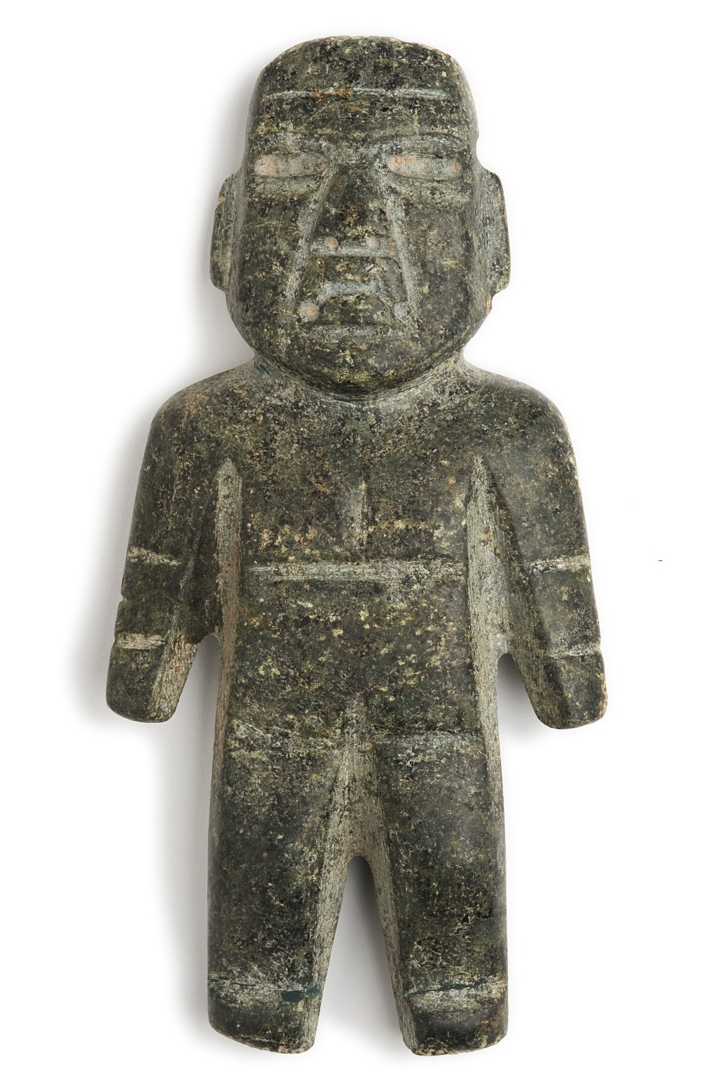Carved stone figurine