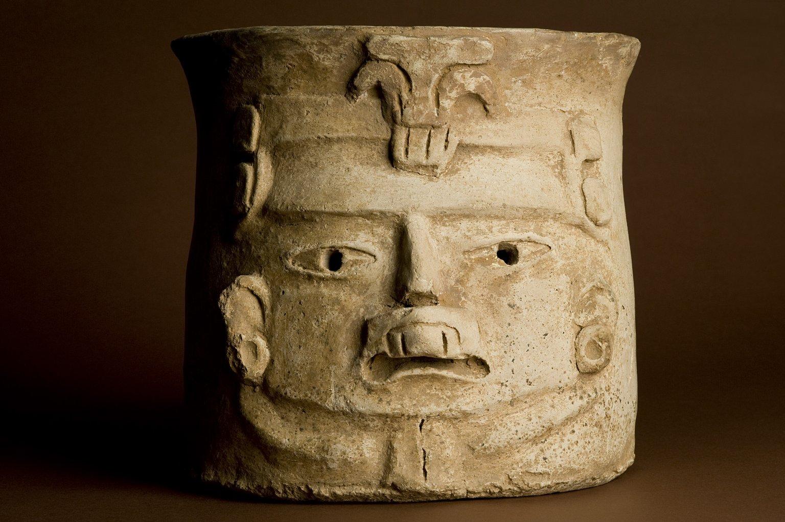 Mayan pottery incensario