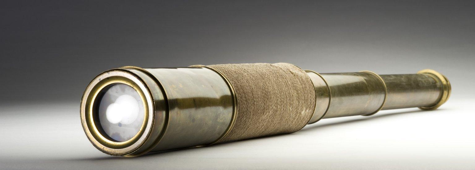 Cord-wrapped telescope
