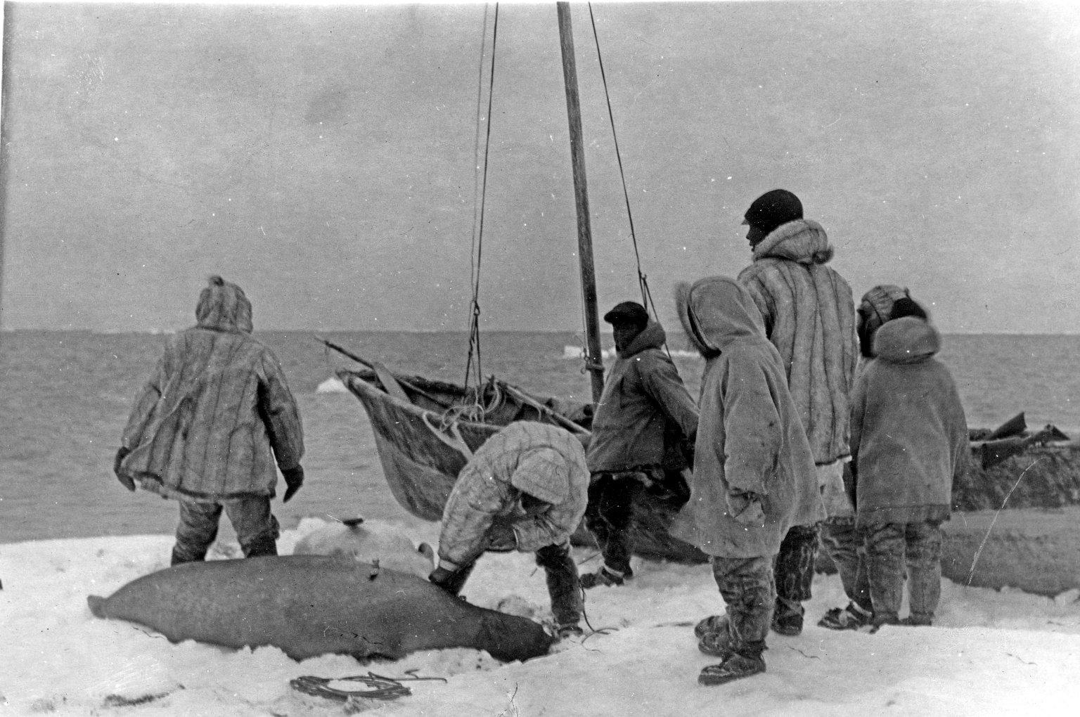 Alaskan hunters