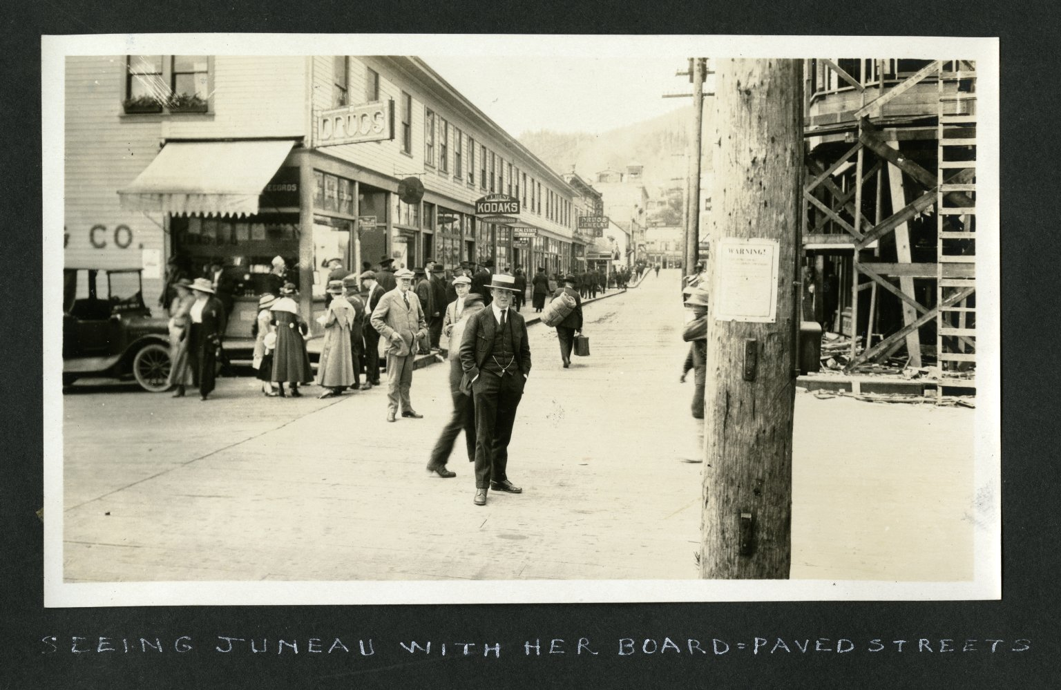 Seeing Juneau with Her Board=Paved Streets