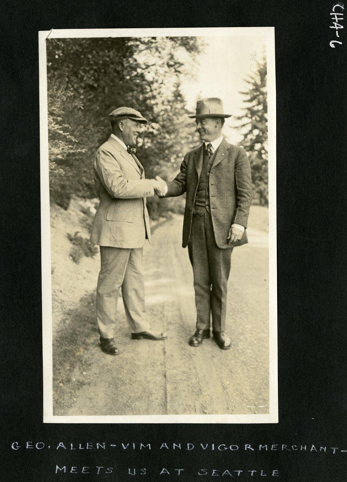 Georg Allen and Harry C. James