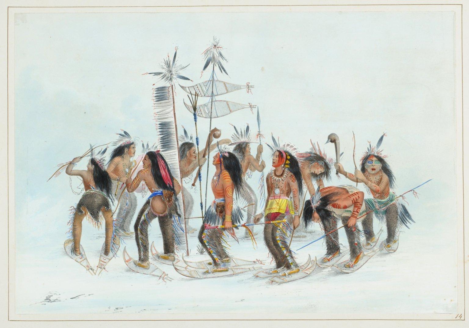 Snow-Shoe Dance.