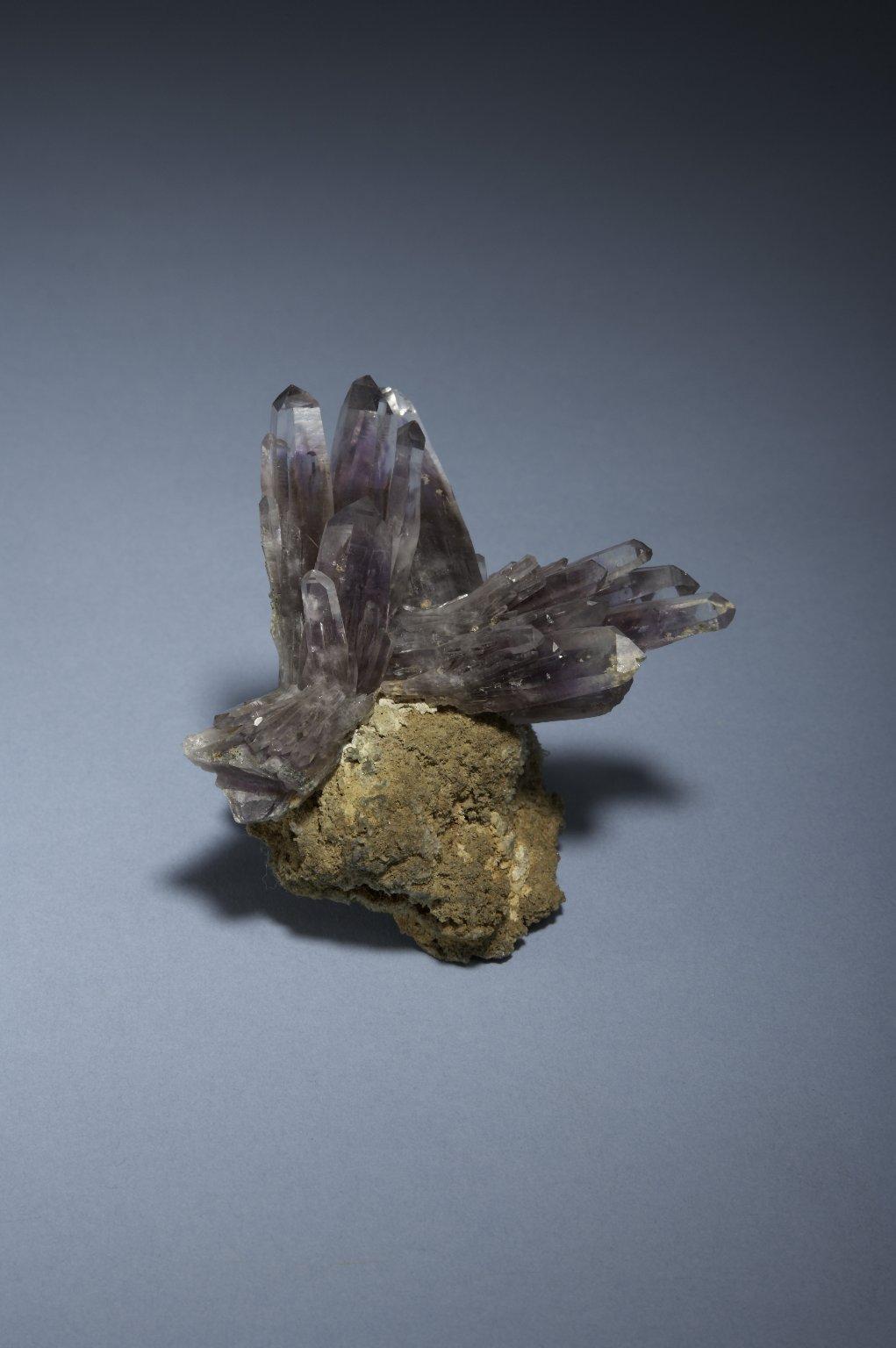 Quartz and amethyst, side B