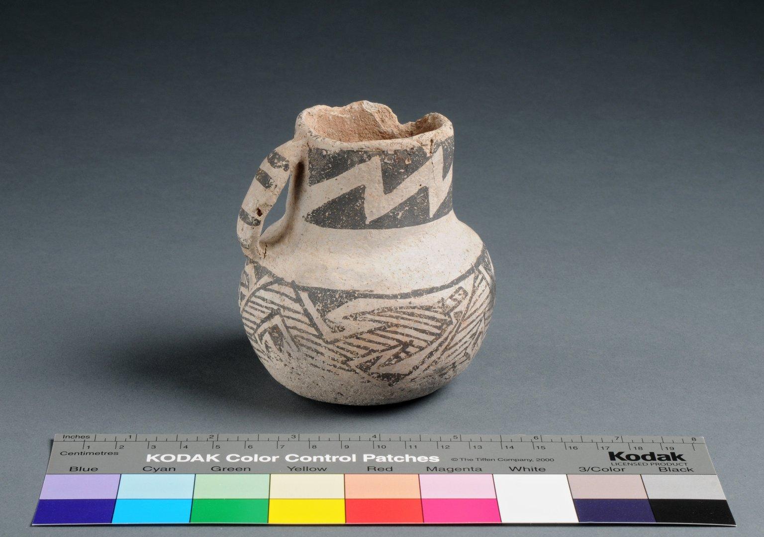 Cibola Ancestral Pueblo Small Clay Pitcher