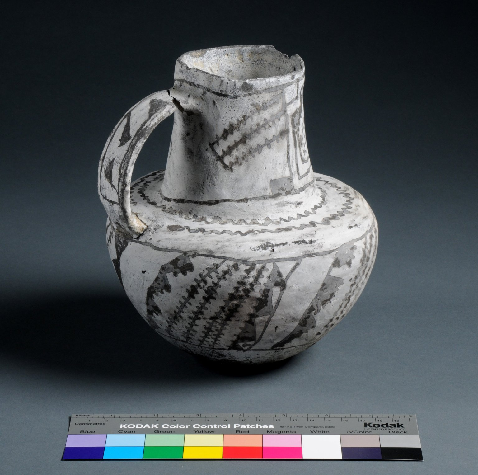 Ancestral Pueblo Clay Pitcher