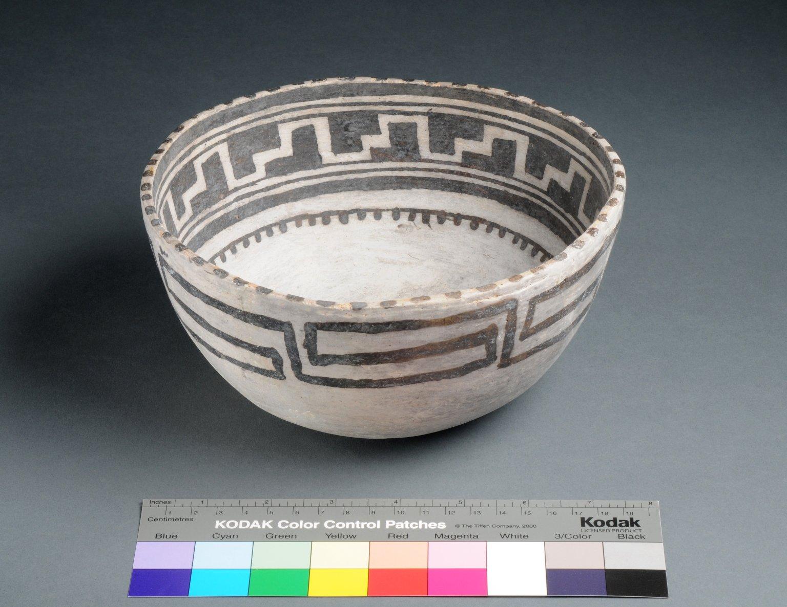 Ancestral Pueblo Clay Bowl