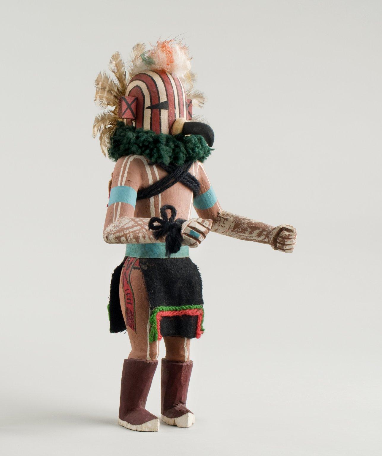 Qa'ökatsina - Sparrow Hawk Kachina Doll