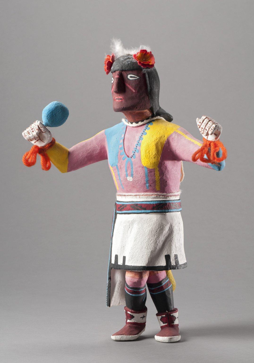 Huhuwa Kachina Doll