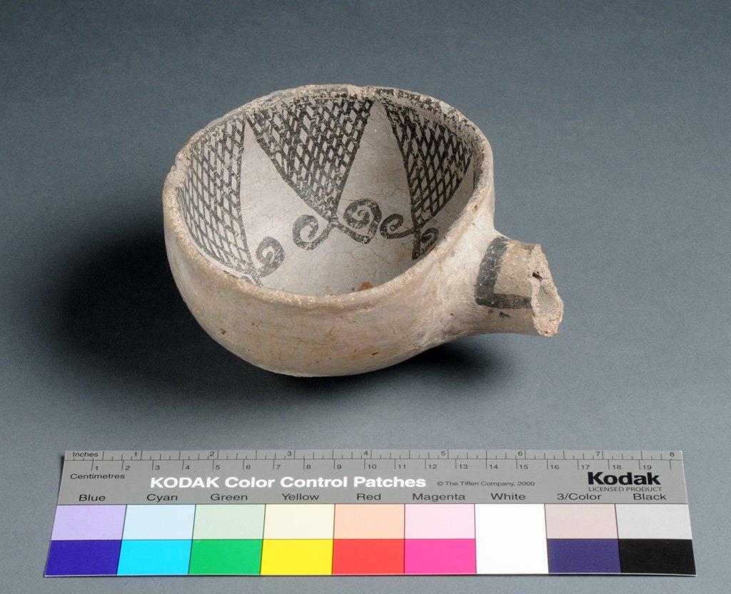 Cibola Ancestral Pueblo Clay Ladle