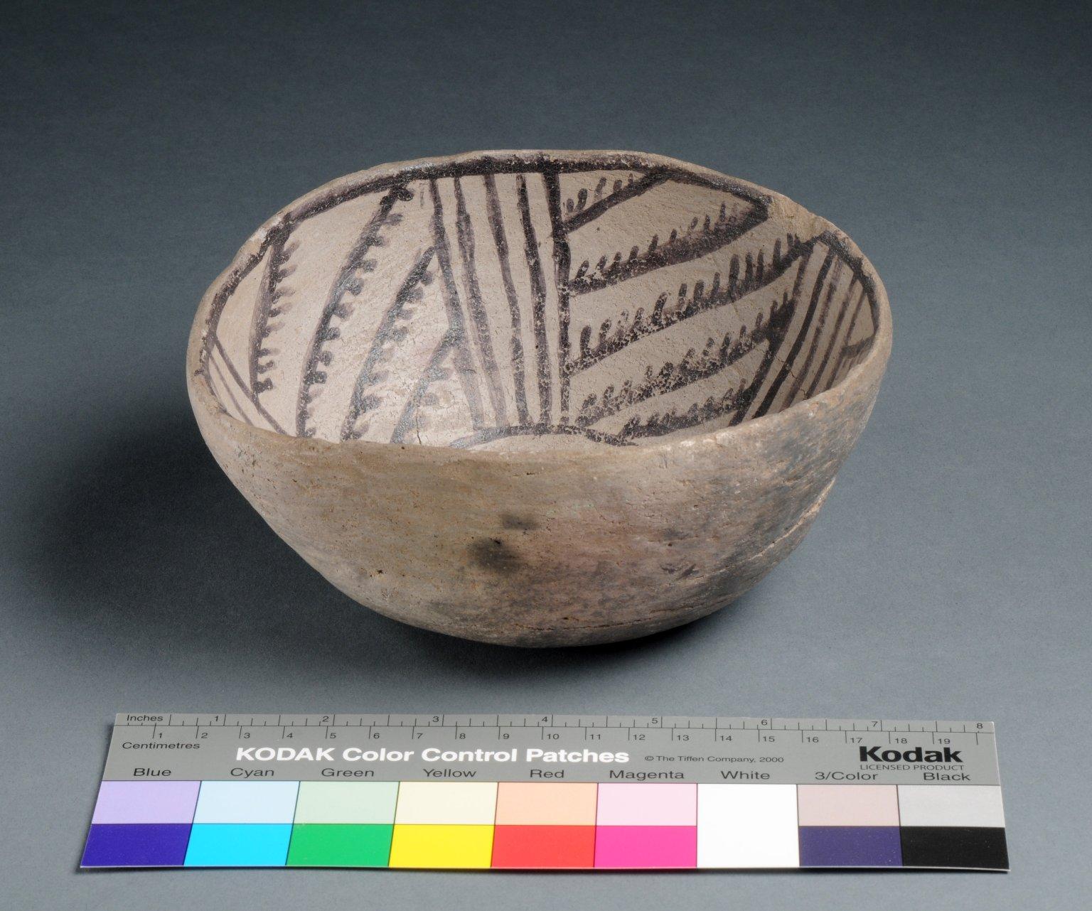 San Juan Ancestral Pueblo Clay Bowl