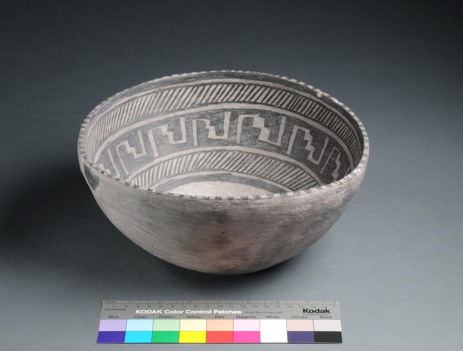 Mesa Verde Ancestral Pueblo Clay Bowl