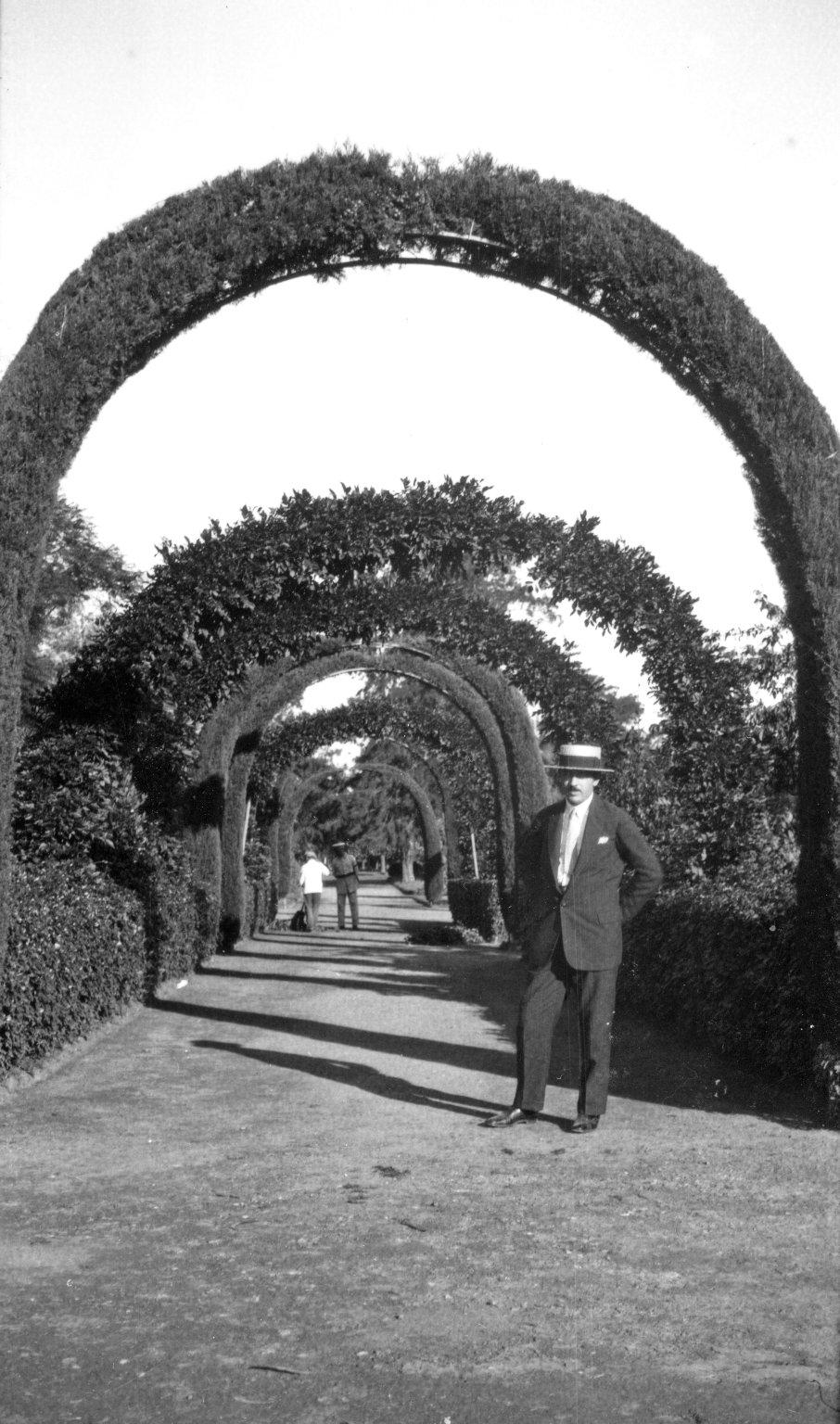 View in Buenos Aires Rose Garden: Frederick G. Brandenburg