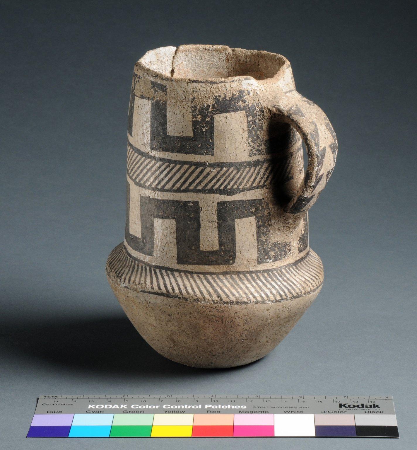 Cibloa Ancestral Pueblo Clay Pitcher