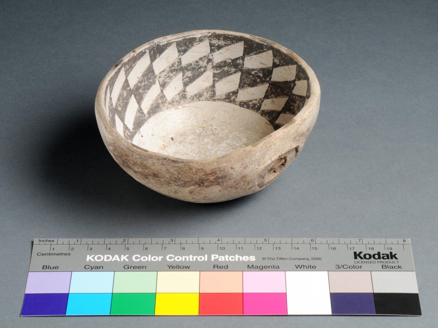 San Juan Ancestral Pueblo Clay Ladle