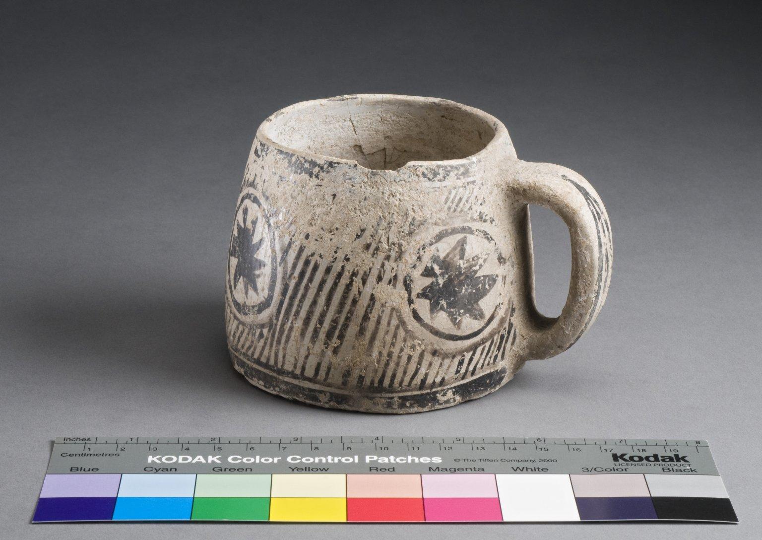 San Juan Ancestral Pueblo Clay Mug