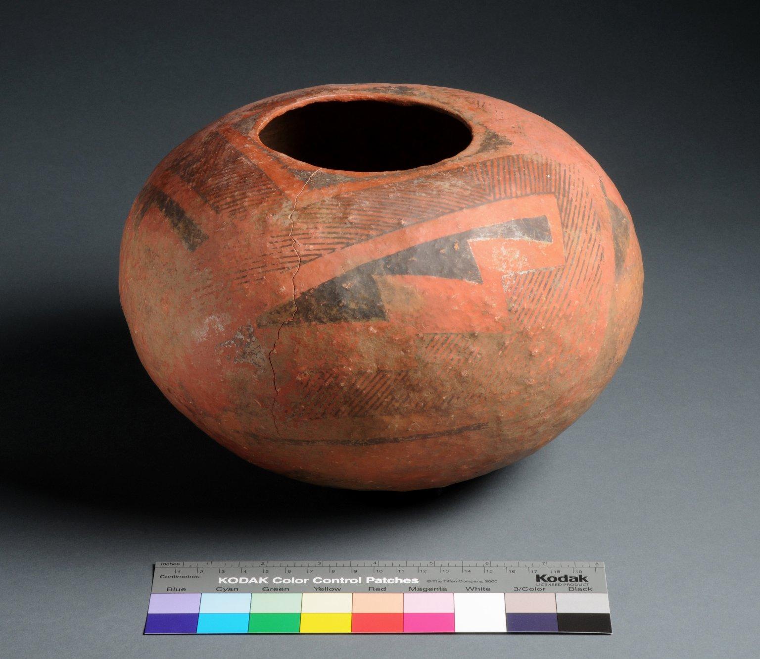 Cibola Ancestral Pueblo Clay Seed Jar