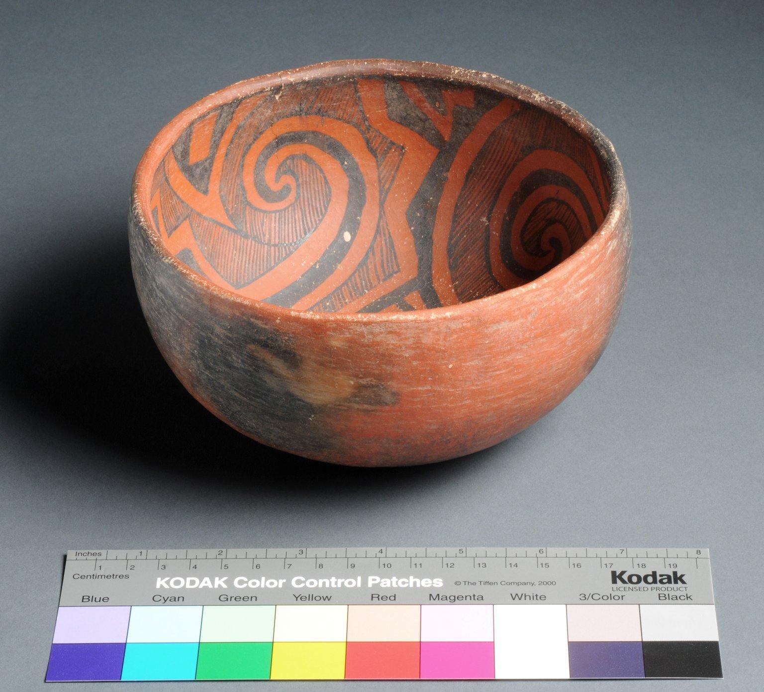 Cibola Ancestral Pueblo Clay Bowl