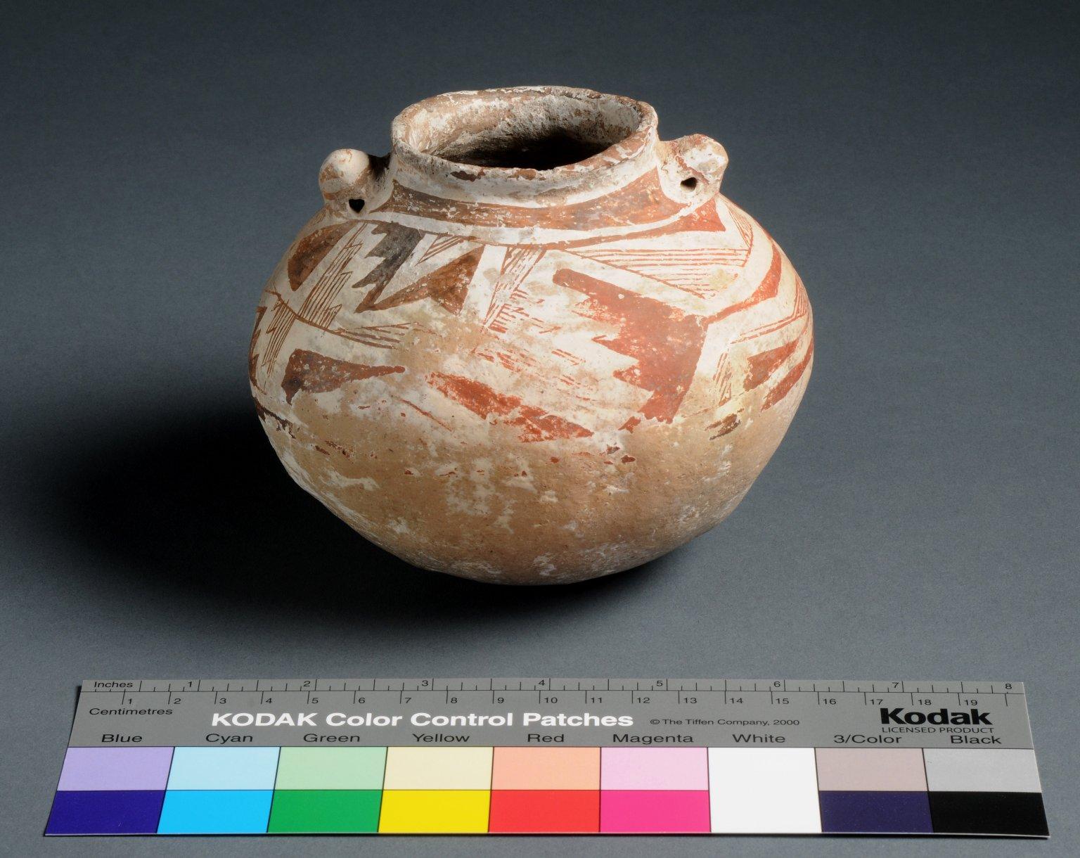 Mogollon/Mimbres Clay Necked Jar