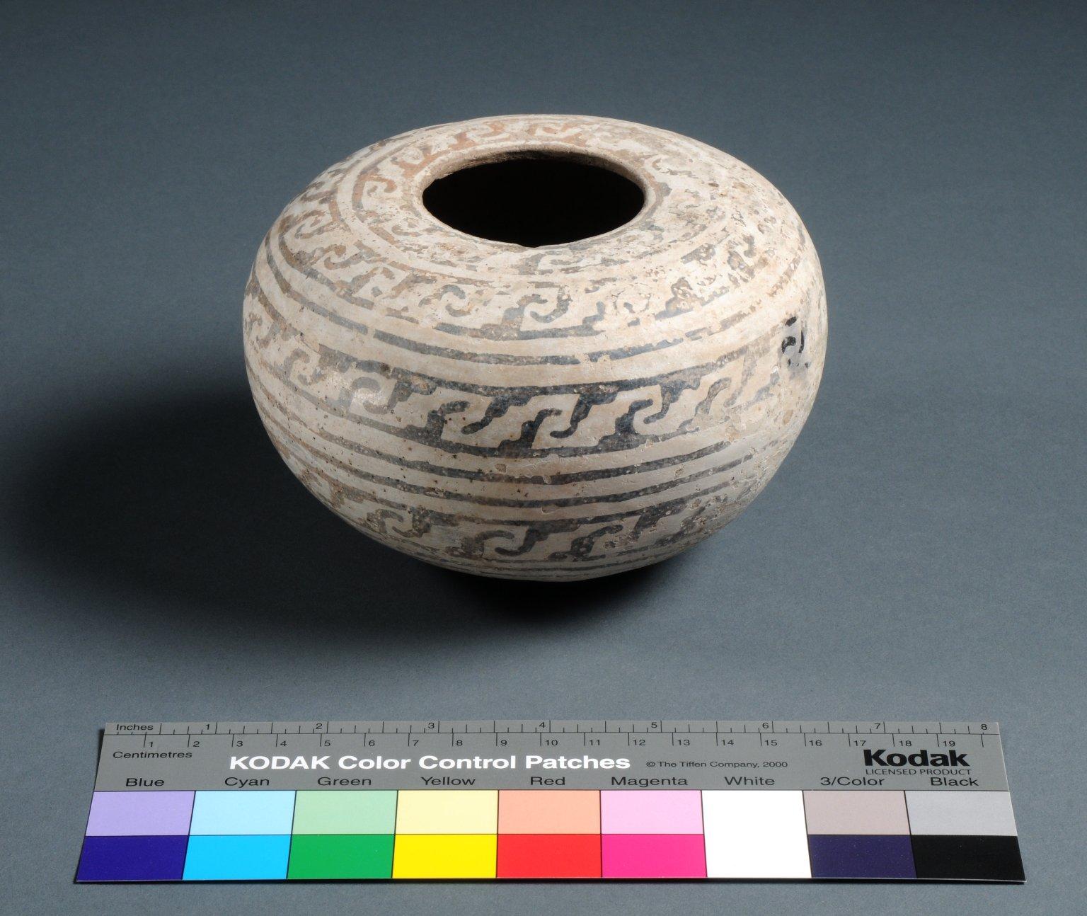 Kayenta Ancestral Pueblo Clay Seed Jar
