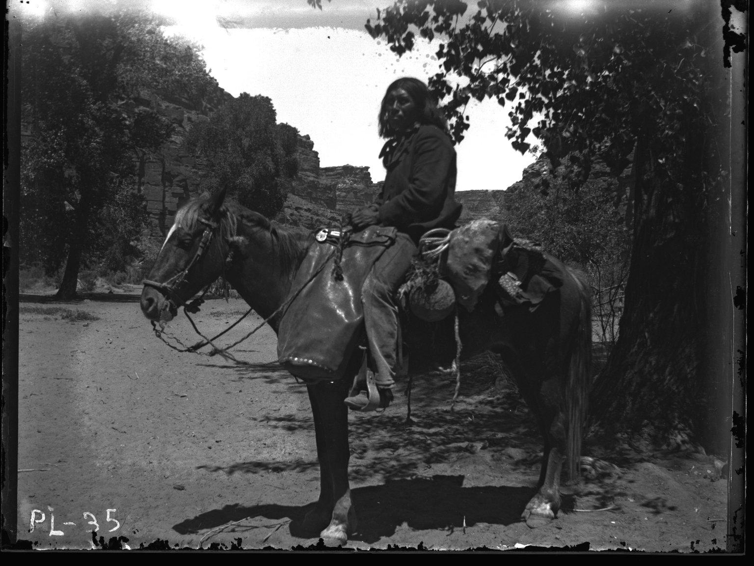 Prince Uodo on Horse