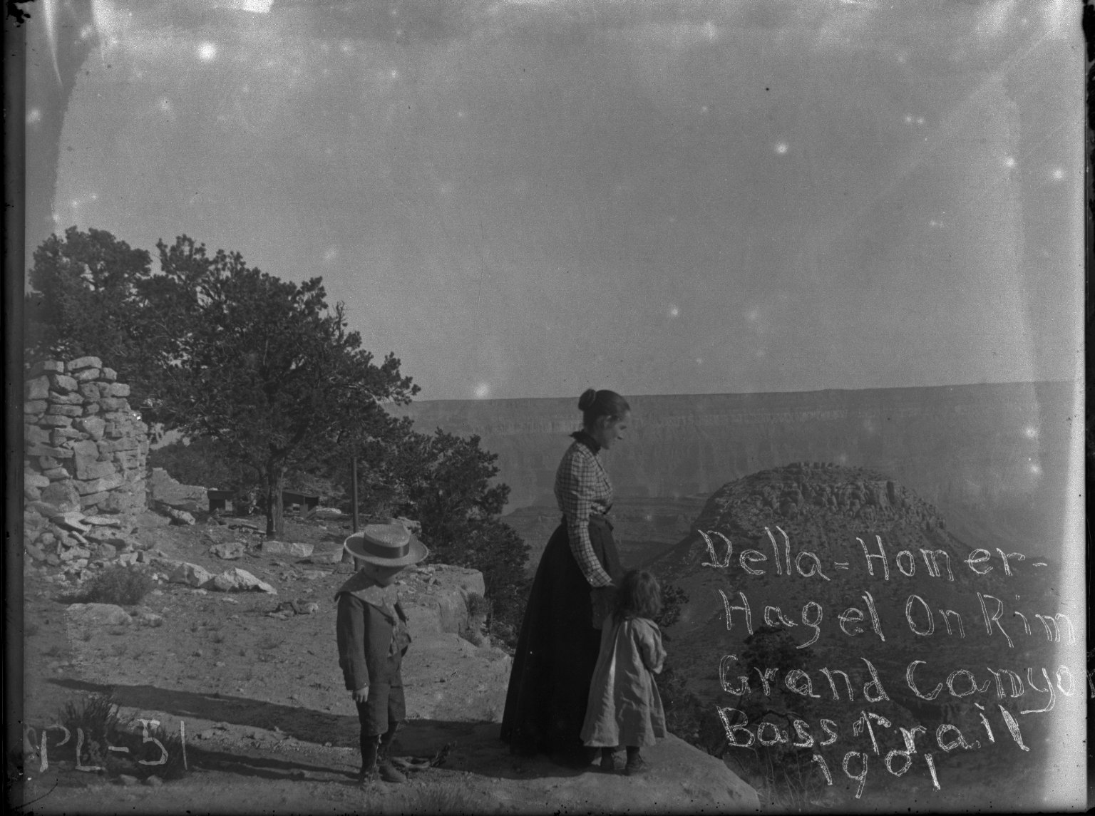 Della, Homer & Hazel at Head of Basses Trail