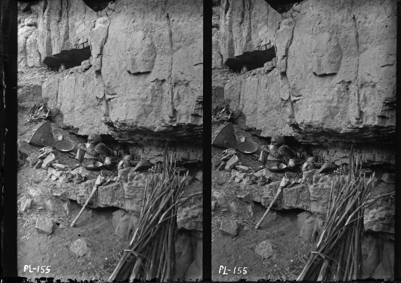 Jimatre -- Old Woman's Homeshelf in Rocks