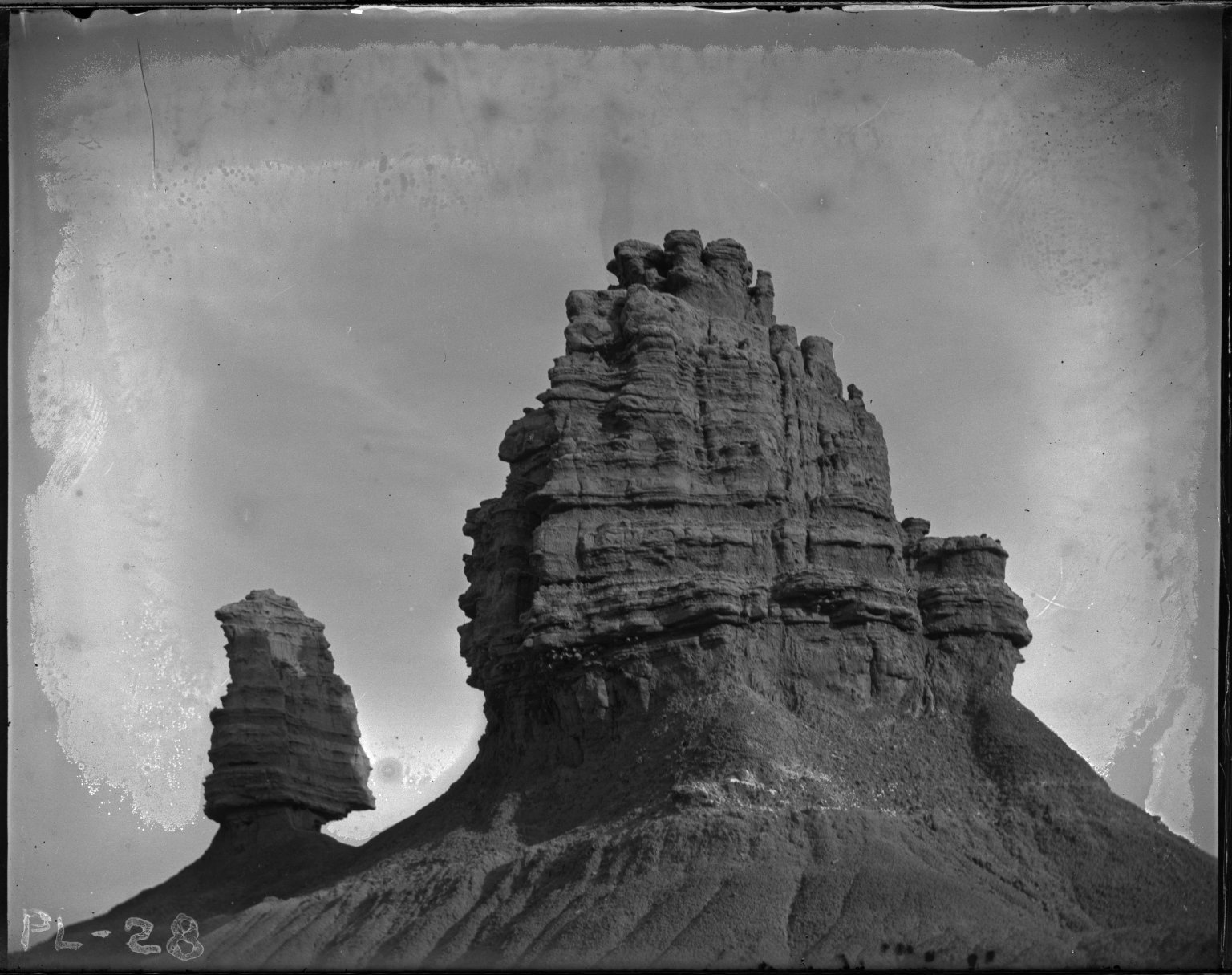 Buttes seen going to Supai and Hopi