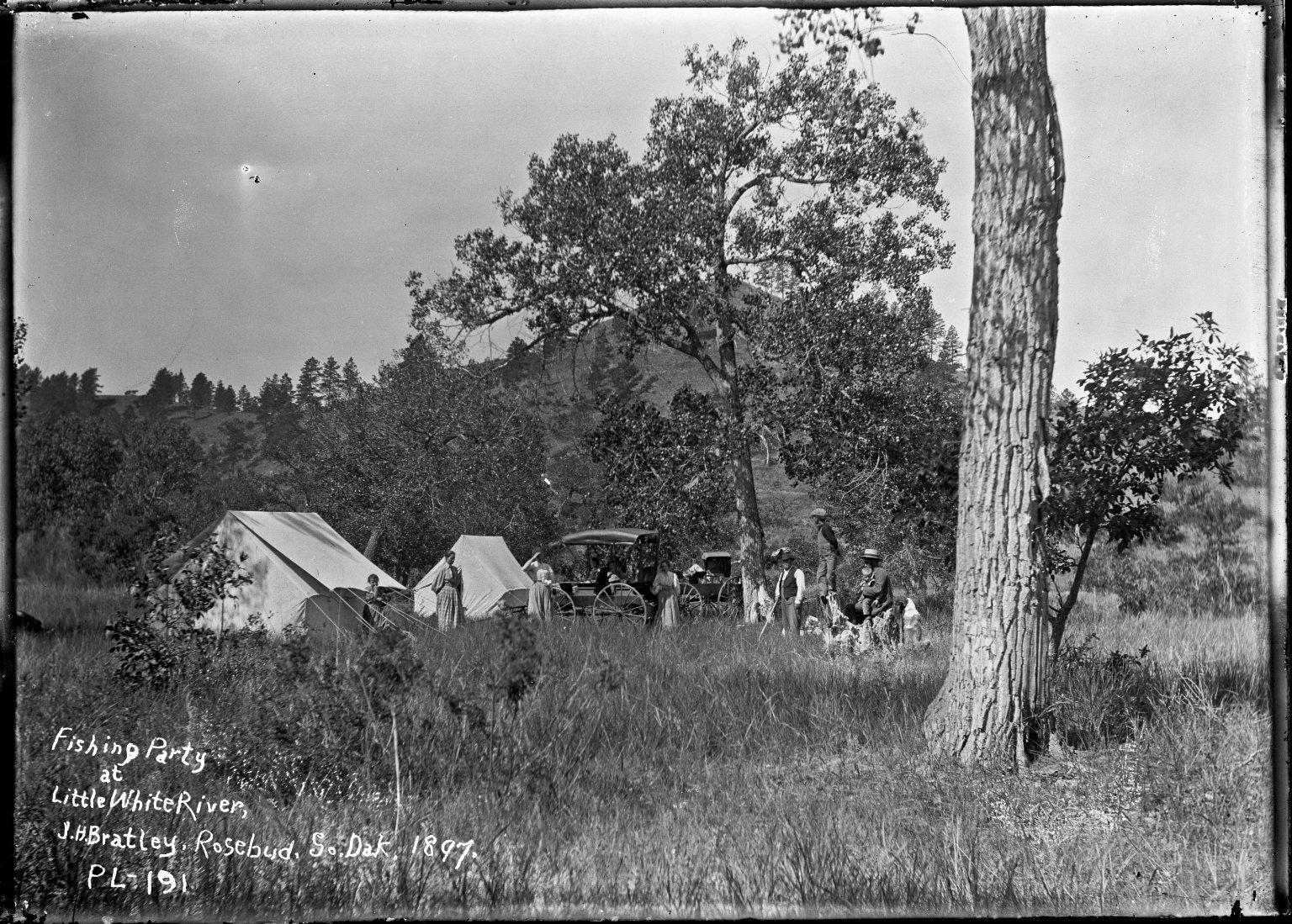 Teacher's camp on White River