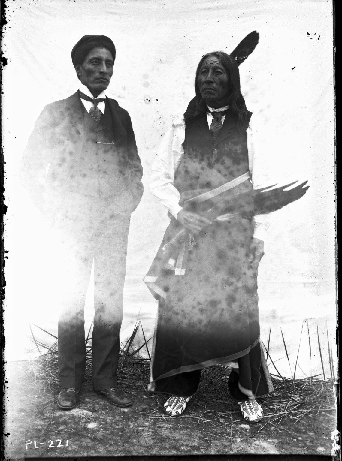 Chauncey Yellow Robe and Chief Yellow Robe