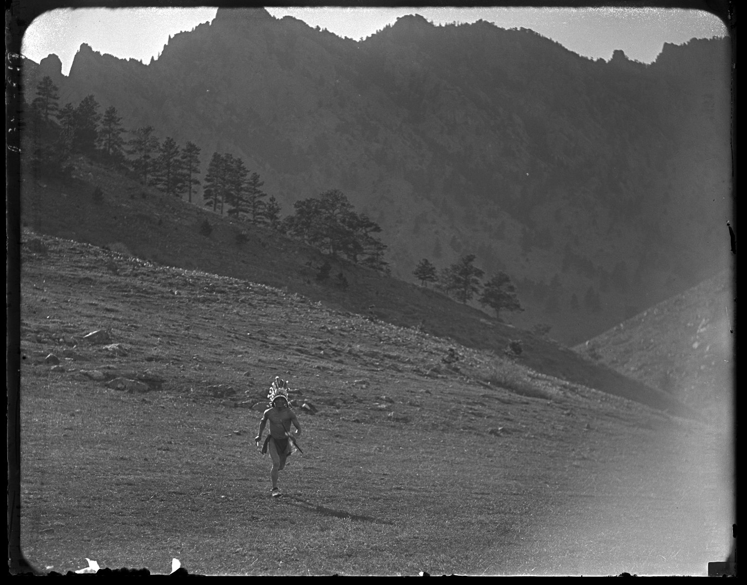 #2 Indian running toward camera