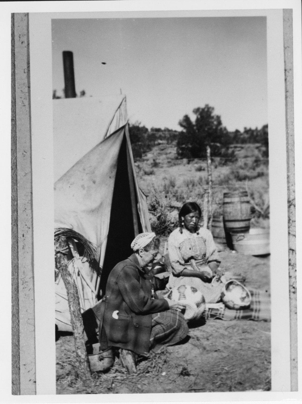 Mary Monarco with Hendrina Hospers.