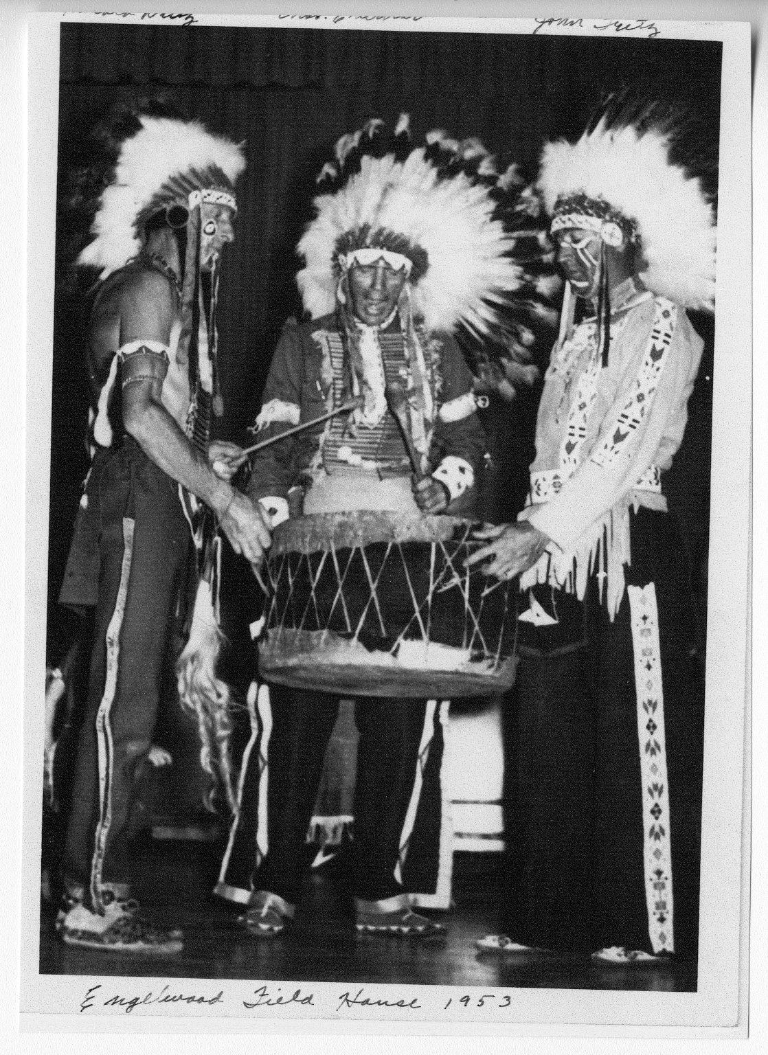 Charles Eberhart, Harold Diltz, and John Fritz