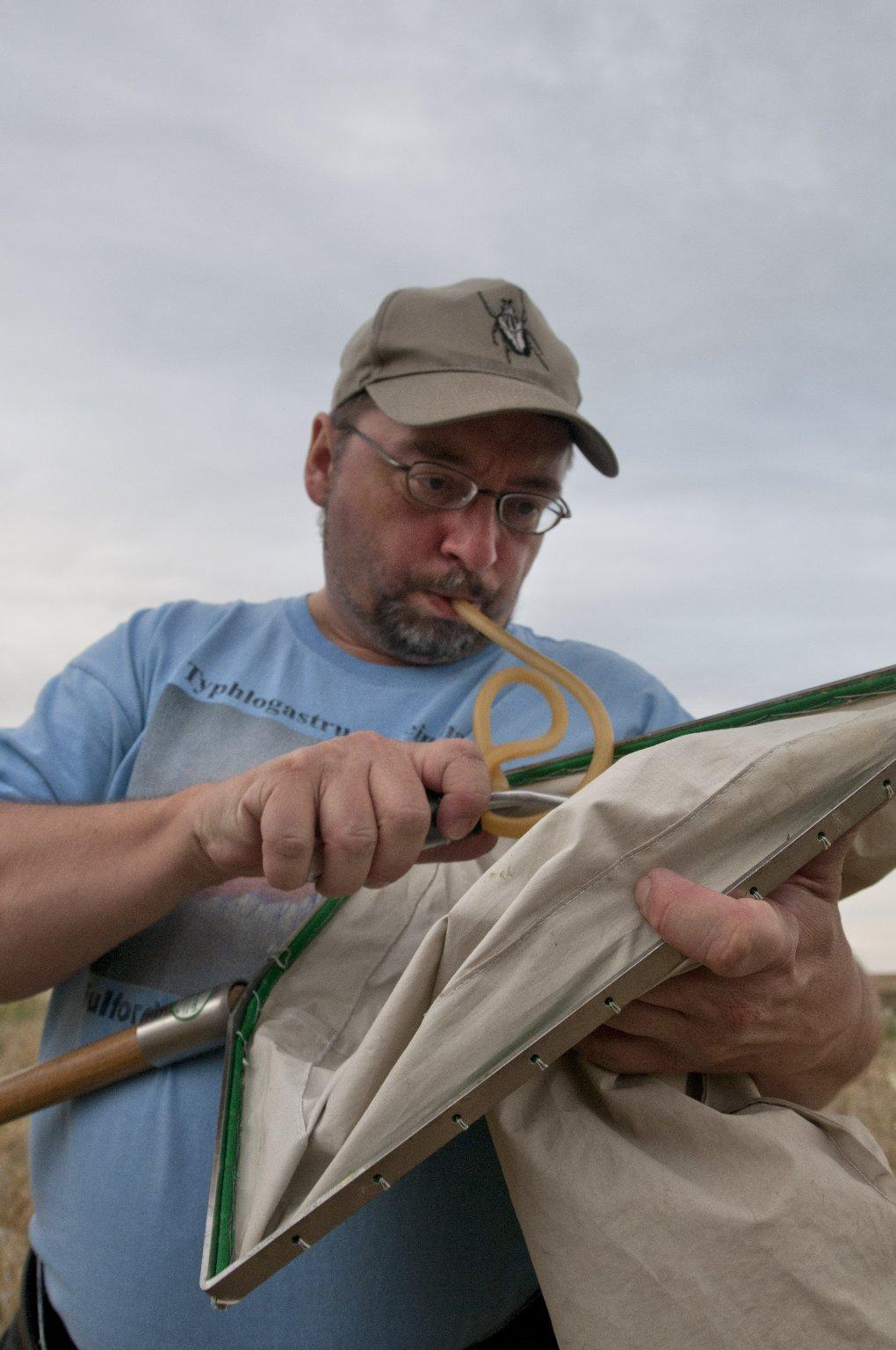 Dr. Frank Krell fieldwork