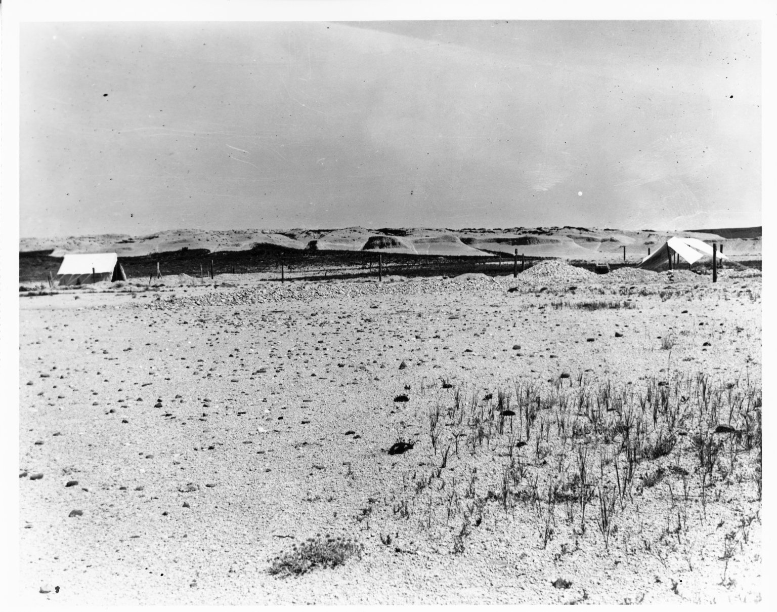 View of Fossil Quarry in Weld County, Colorado
