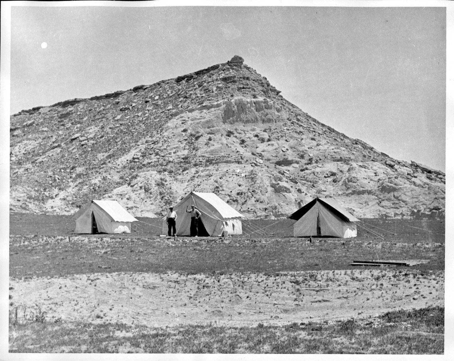 Quarry and camp at Horsetail Creek