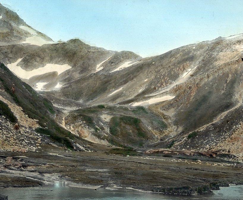 Unidentified mountain landscape