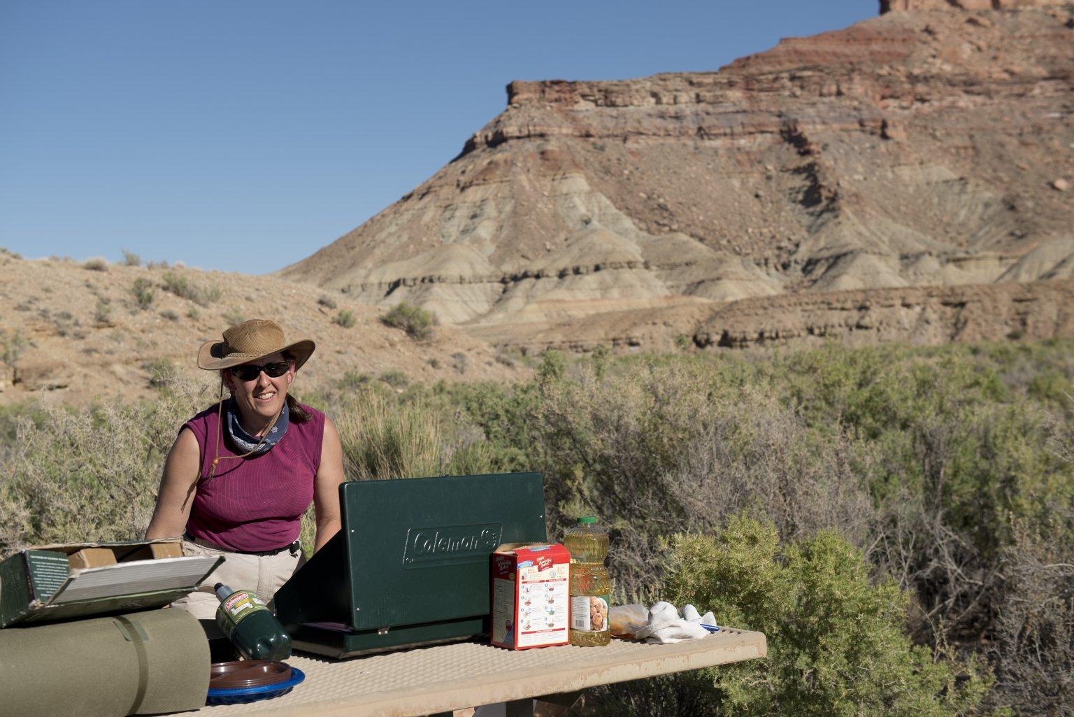 Collecting Solifugae with Dr. Paula Cushing
