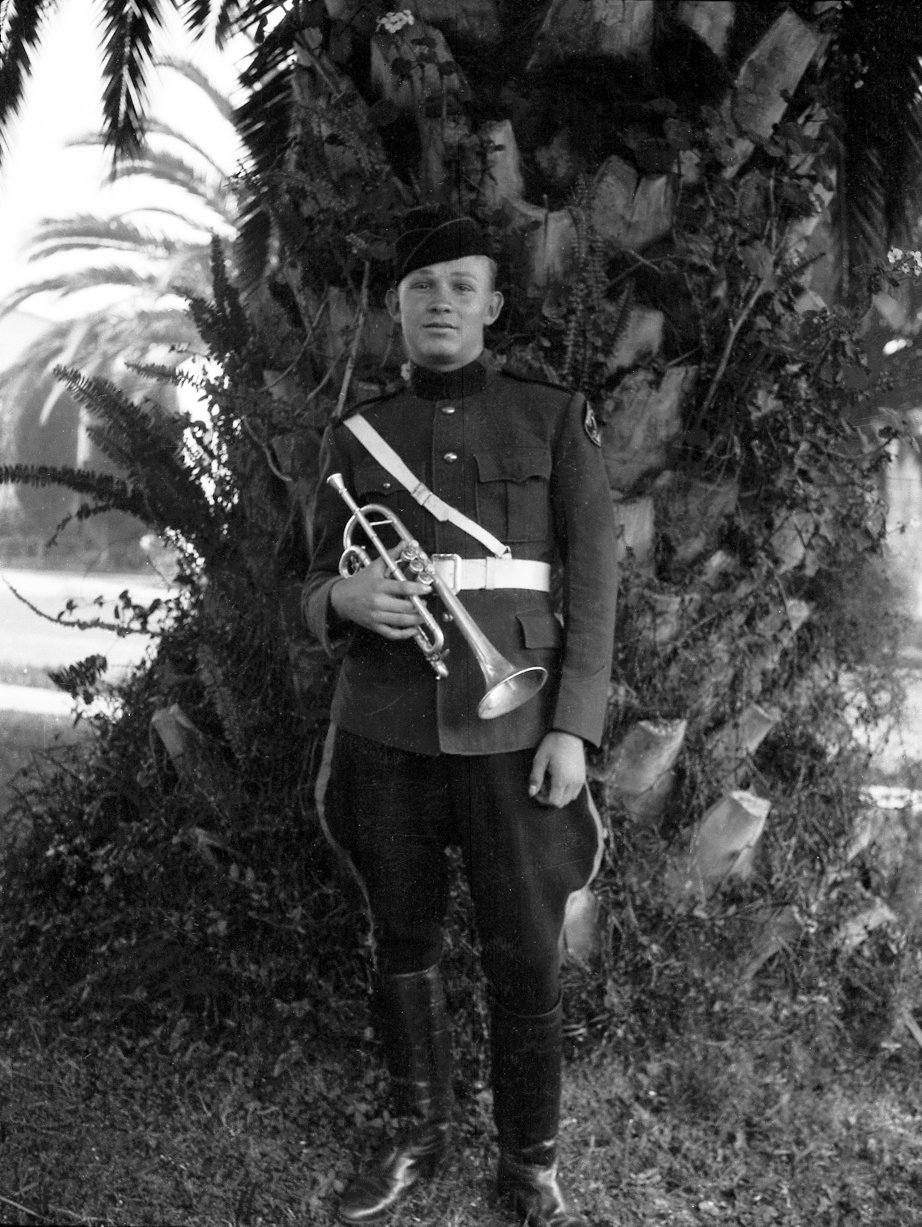 Bugler in Uniform