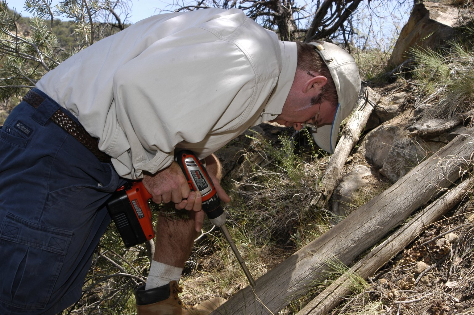 In the field with Steve Nash, Mesa Verde