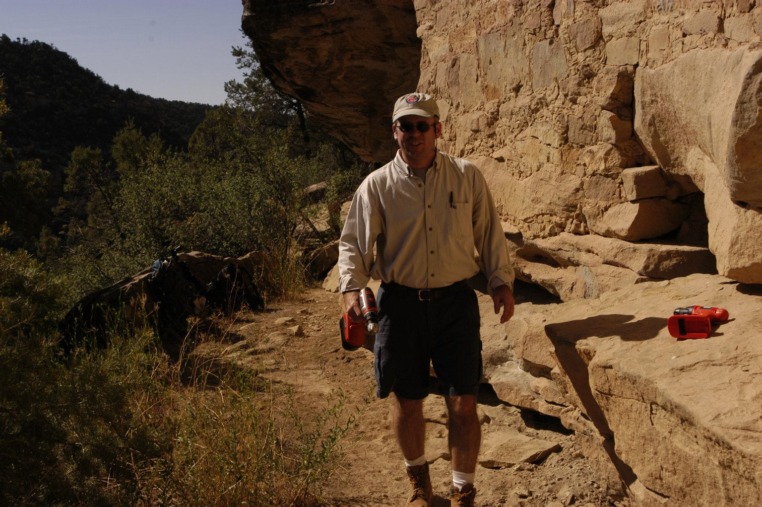 In the field with Steve Nash, Mesa Verde