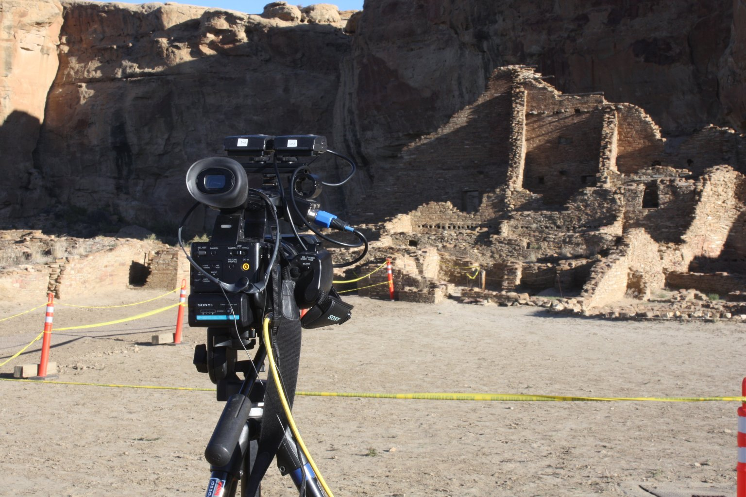 Science in Action with Steve Nash in Chaco Canyon, New Mexico