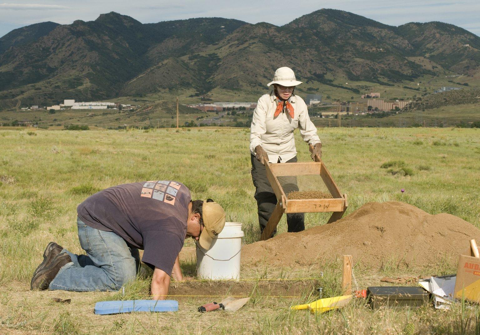 Steve Holen at Scott Spring Site
